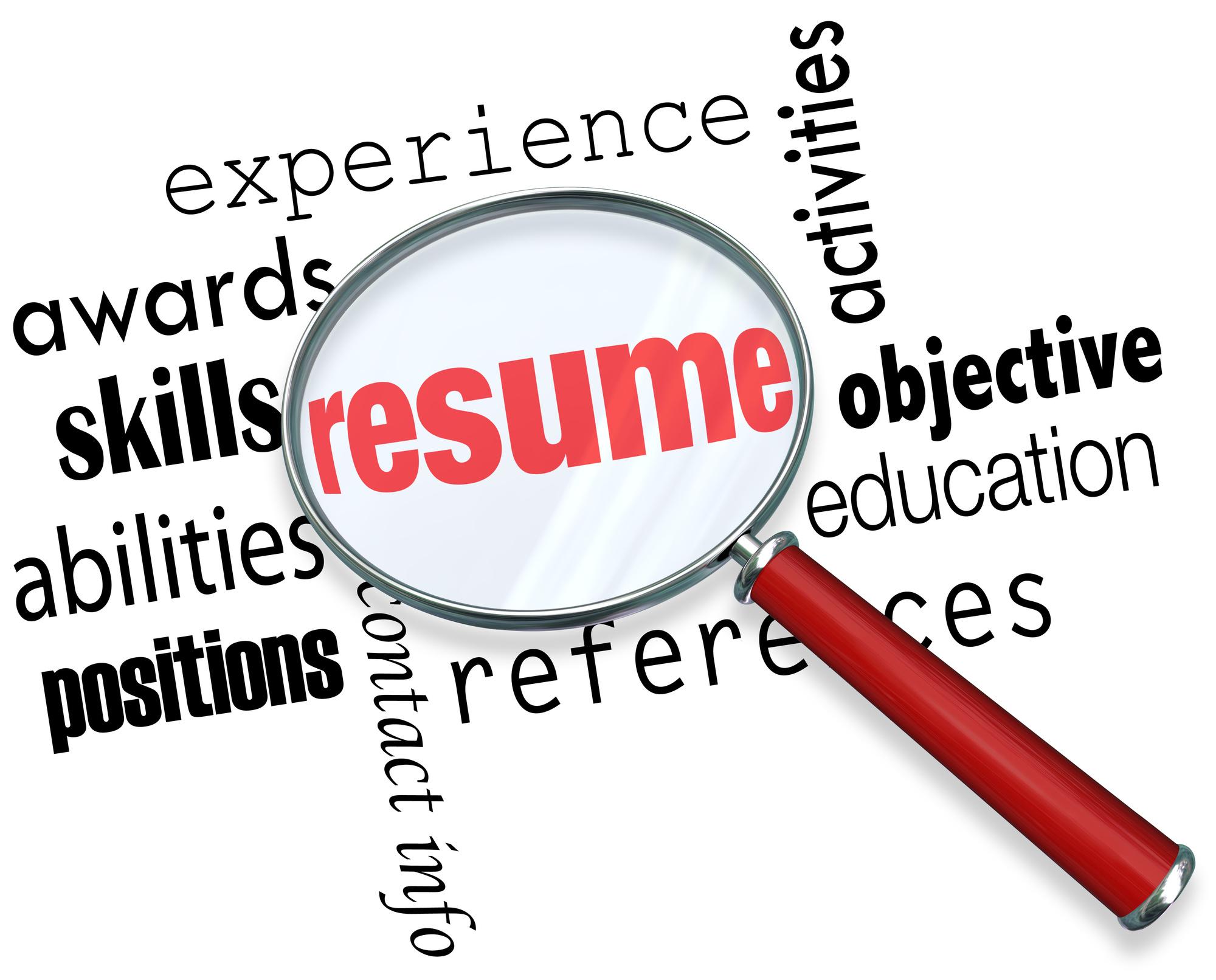 resume writing service